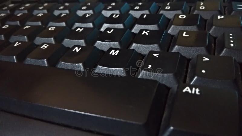 Photos en gros plan de clavier photographie stock
