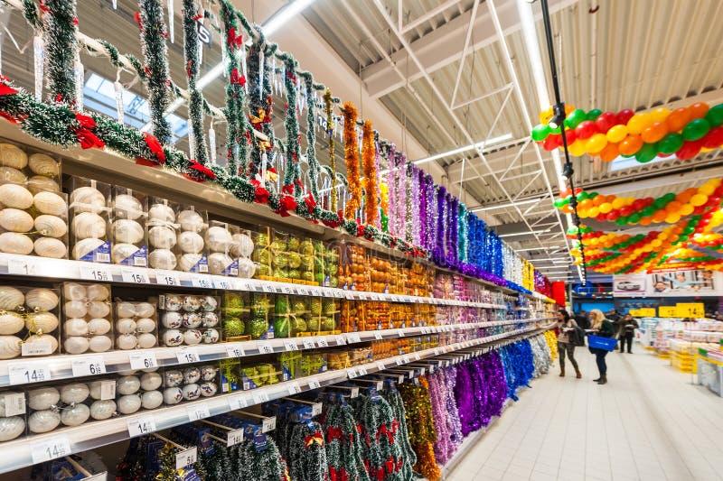 Photos At Hypermarket Carrefour Editorial Photography