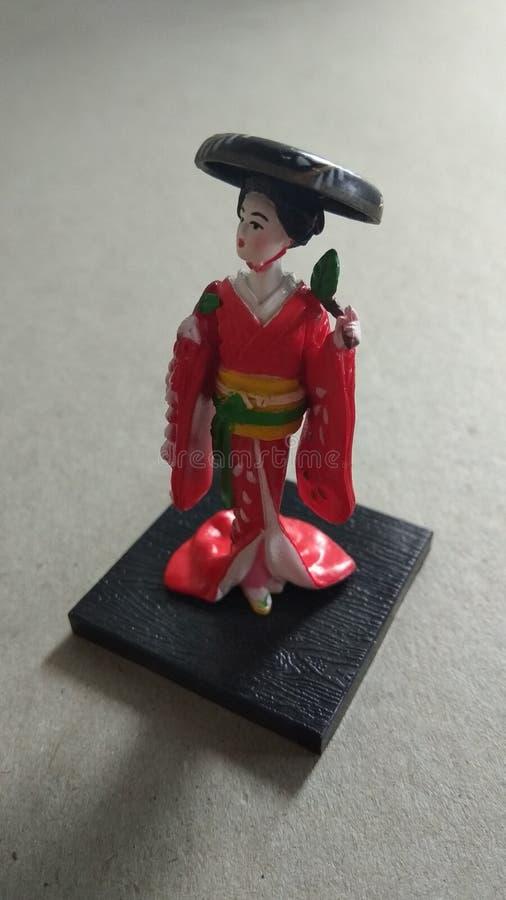Photos miniatures de dolls3 japonais images stock