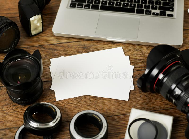 Photos and photography equipment royalty free stock photography