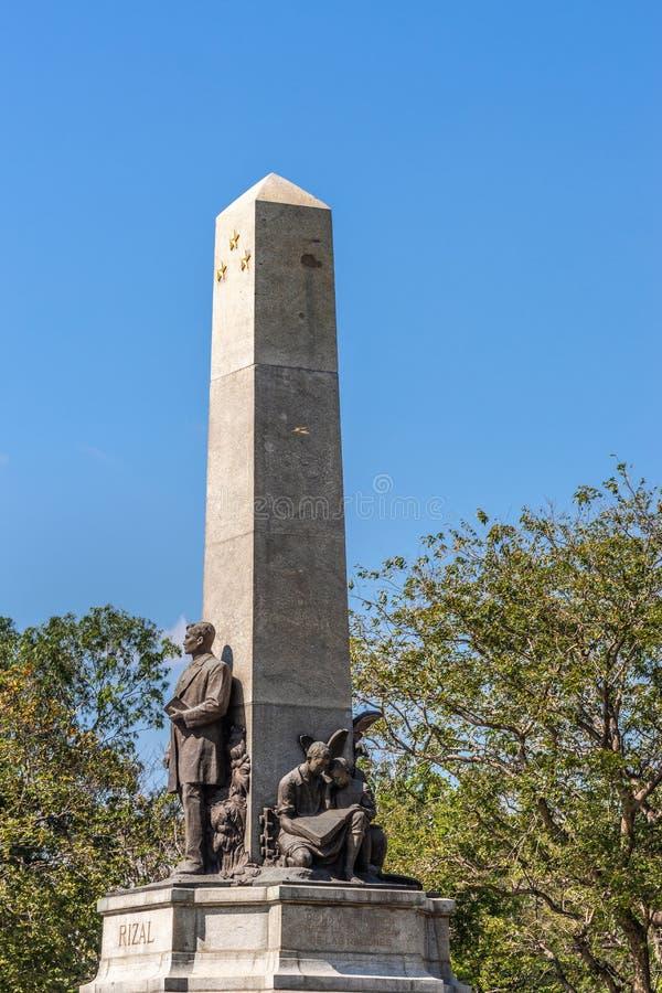 PHOTOS : Rizal Monument au parc Rizal à Manille Philippines photos stock