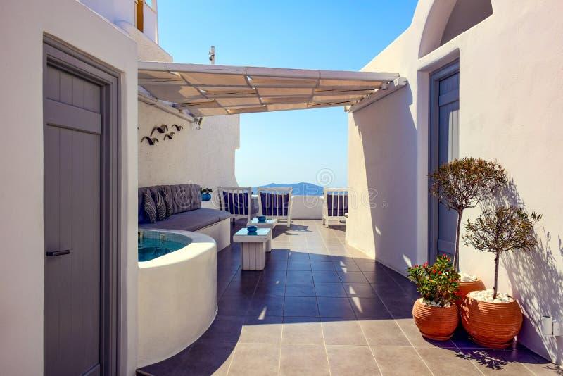 Photos from Santorini island, Cyclades, Greece royalty free stock photography