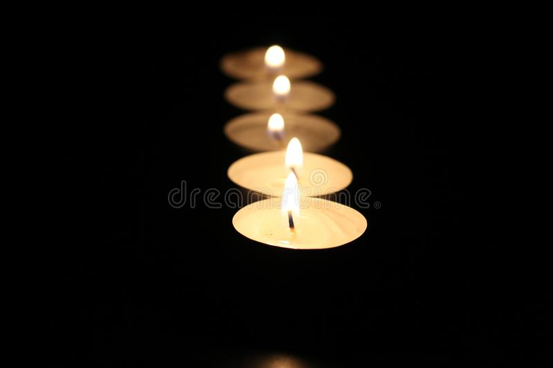 Candle light low light photography. Photos taken with only one light source candle lights royalty free stock photo