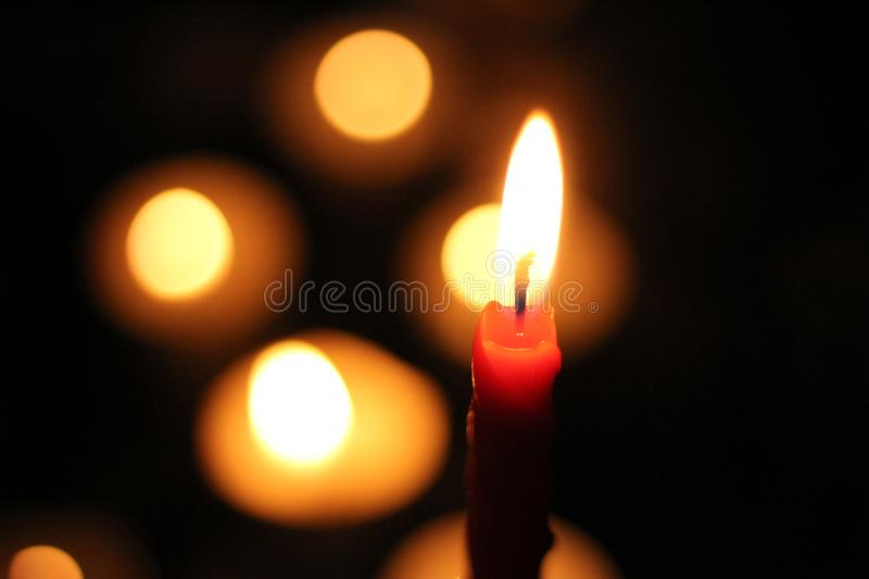 Candle light low light photography. Photos taken with only one light source candle lights royalty free stock images