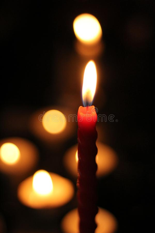 Candle light low light photography. Photos taken with only one light source candle lights royalty free stock photography