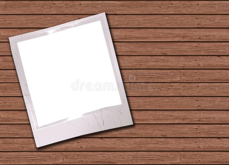 Photos on a wood