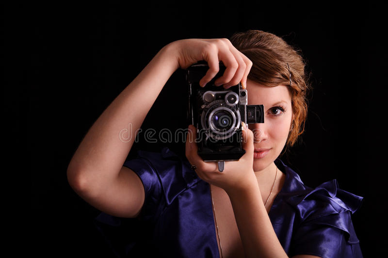 Download Photosession stock photo. Image of enjoyment, lens, happy - 14706402