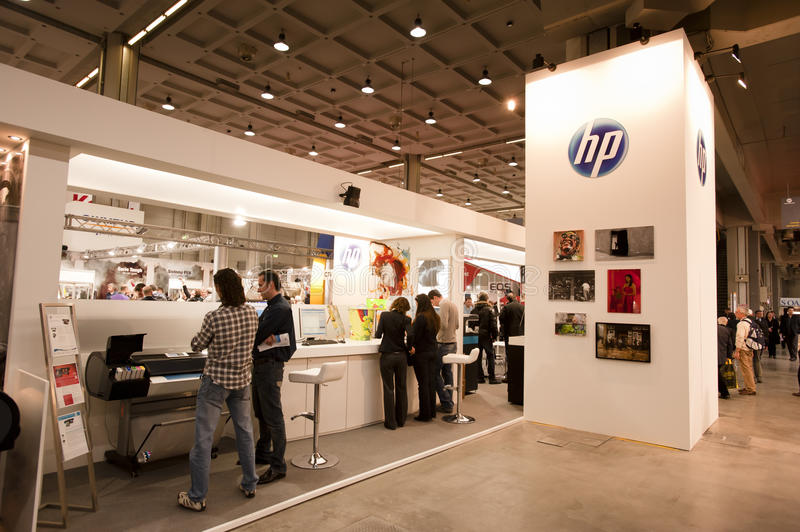 Download Photoshow: HP stand editorial photo. Image of imaging - 18933446