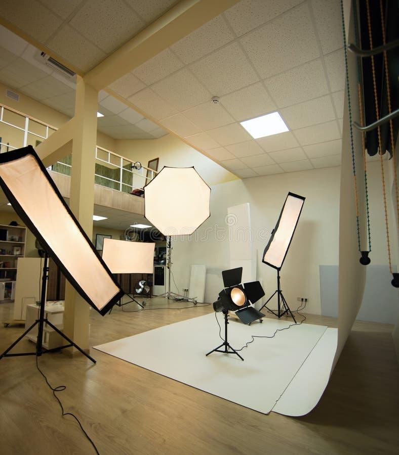 Photostudio fotografering för bildbyråer