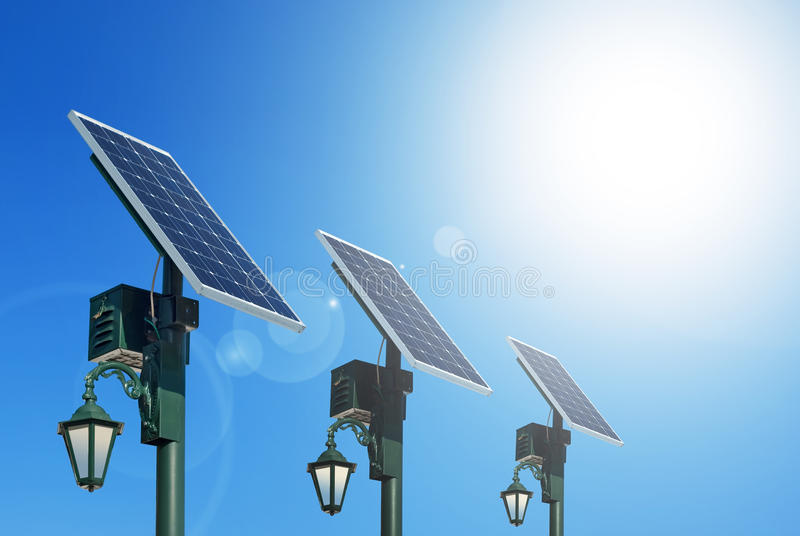 Photovoltaïque photo libre de droits