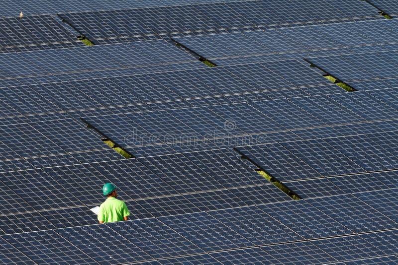 Photovoltaïque industriel image libre de droits