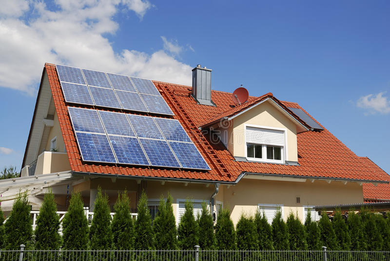 Photovoltaic obraz royalty free