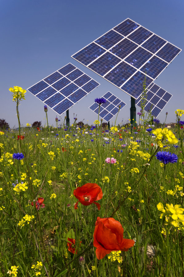 Download Photovoltaic stock image. Image of panels, clear, alternative - 9243347