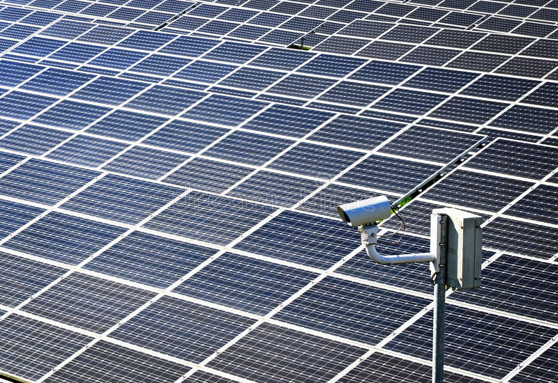 Photovoltaic business royalty free stock photo