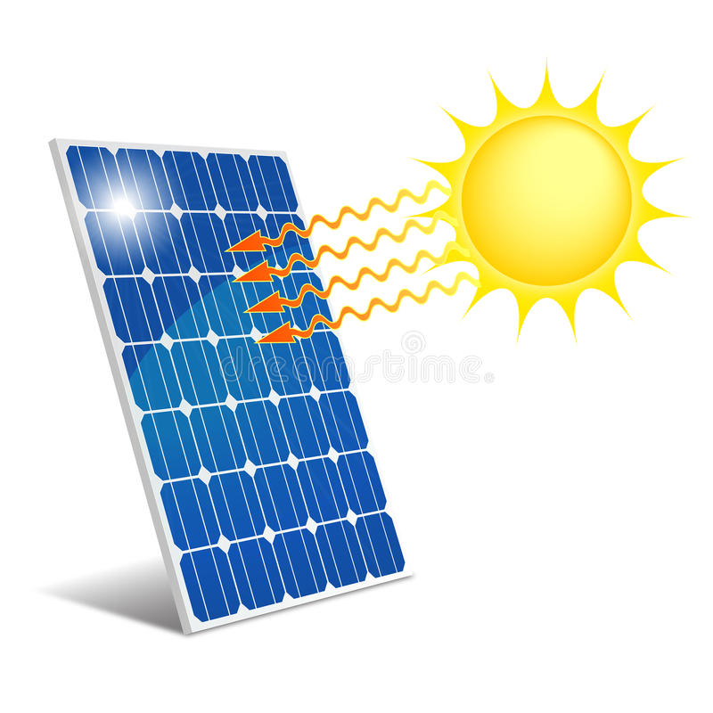 Photovoltaic Comité vector illustratie