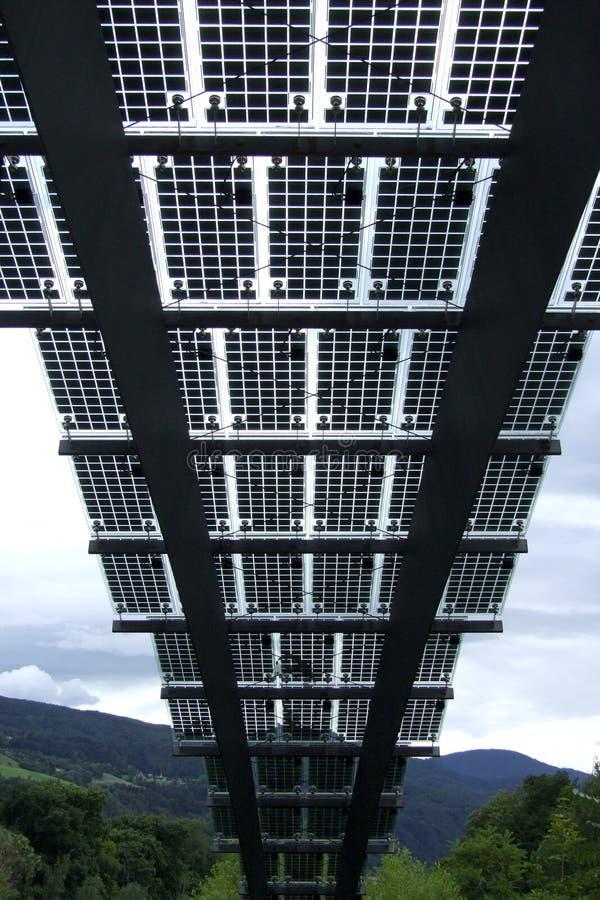 Photovoltaic Comités in Brixen stock foto's
