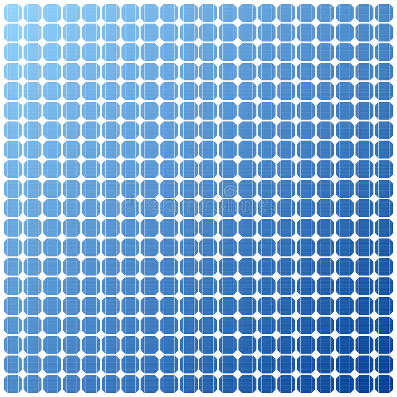 Photovoltaic elektryczna panel słoneczny tekstura royalty ilustracja