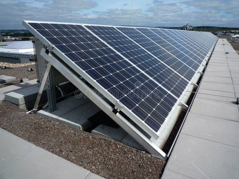 Photovoltaic arkivfoton