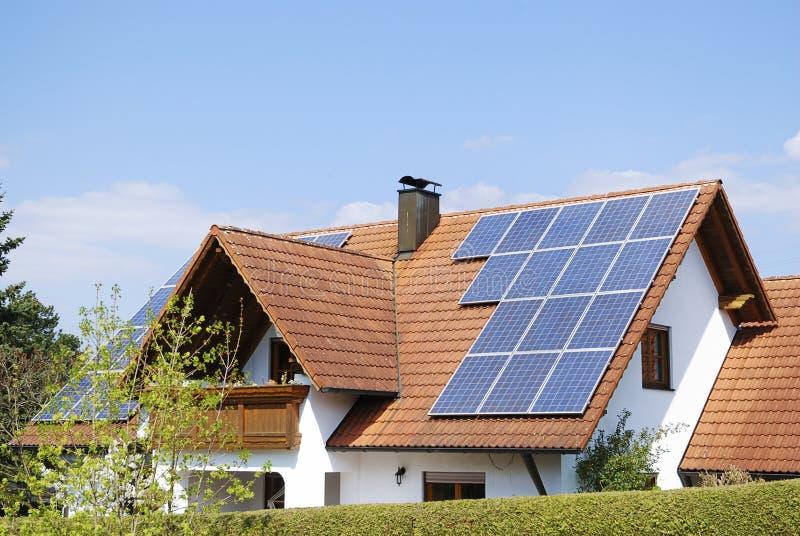 photovoltaic installation royaltyfri bild
