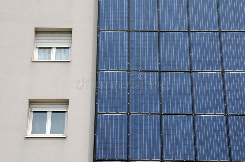 Photovoltaic panel royalty free stock photo