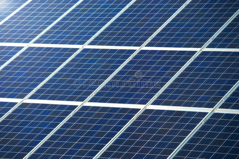 Photovoltaic Panel For Solar Power Generation Texture Or