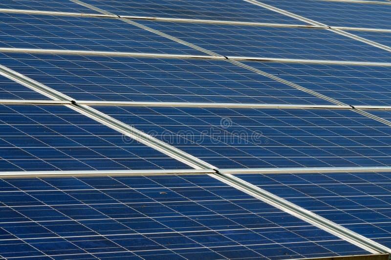 Photovoltaic panelen royalty-vrije stock foto's