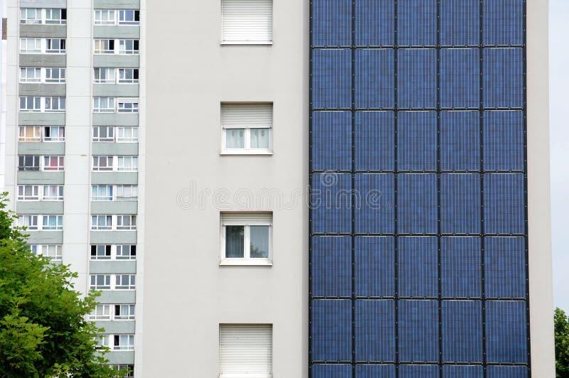Photovoltaic panels stock image