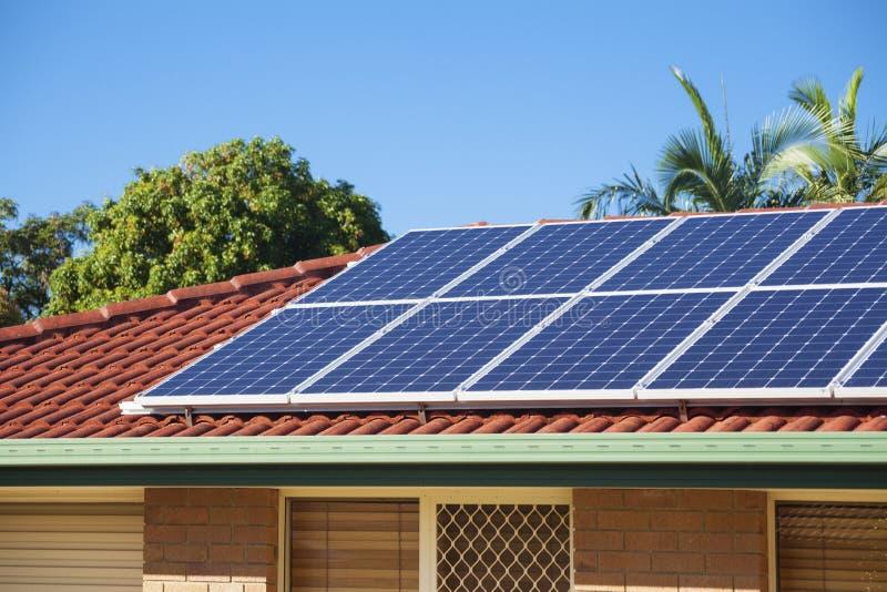 Photovoltaic sol- energi arkivbilder