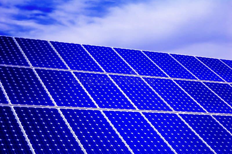 Photovoltaic, solar panel - Renewable energy stock images