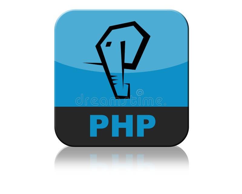 PHP Logo Icon Tab ilustração stock