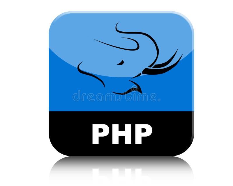PHP Logo Icon Tab ilustração royalty free