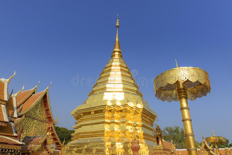 Phra που ναός Doi Suthep, στοκ φωτογραφία