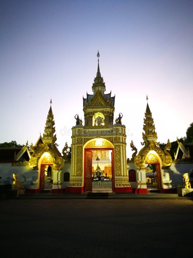 Phra που ναός Phanom στοκ φωτογραφίες