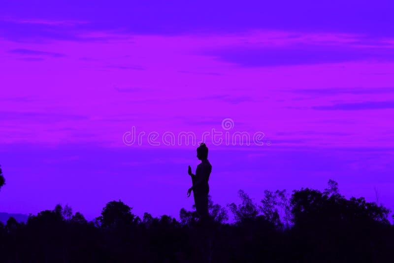 Phra Будда Metta Prachathai в kanchanaburi Таиланде стоковое фото rf
