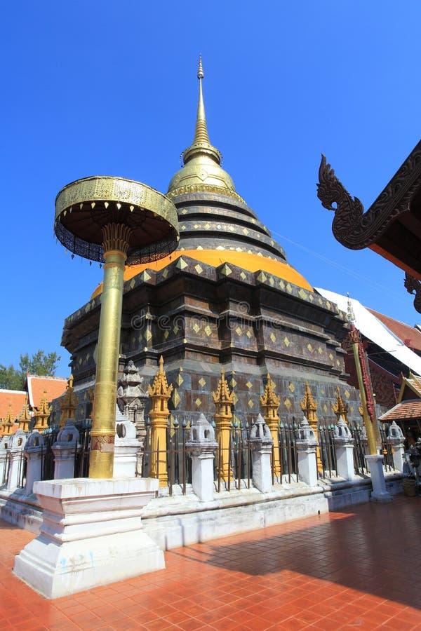 Phra которое Lampang Luang, Таиланд стоковое изображение rf