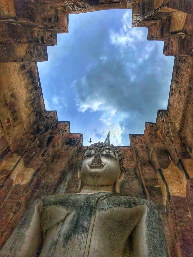 Phra Achan, Wat Si Chum immagine stock