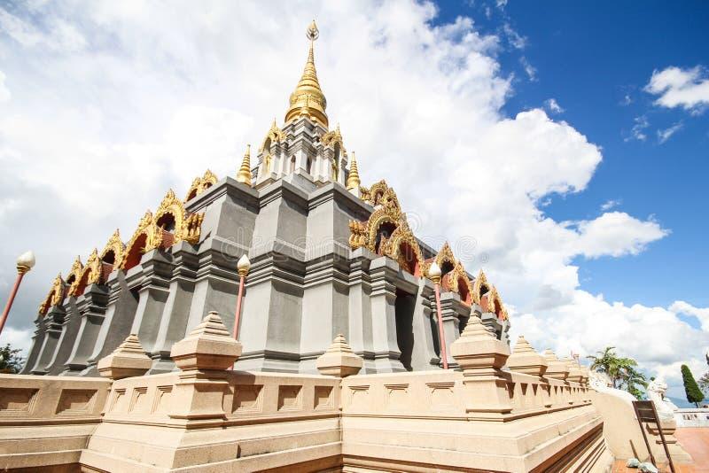 Phra Boromathat Chedi, Doi MaeSalong, Chiangrai, Thaïlande photo stock