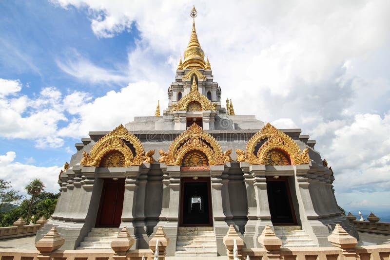 Phra Boromathat Chedi, Doi MaeSalong, Chiangrai, Thaïlande images libres de droits