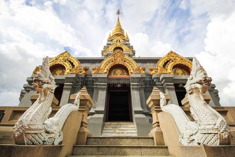 Phra Boromathat Chedi, Doi MaeSalong, Chiangrai, Thaïlande photos libres de droits