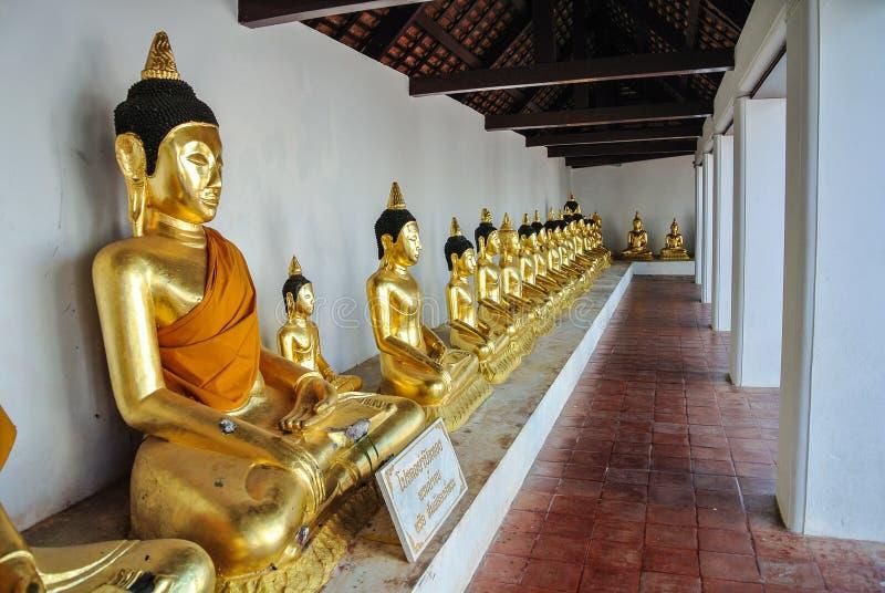 Phra Borommathat Chiya σε Suratthani Ταϊλάνδη στοκ εικόνα με δικαίωμα ελεύθερης χρήσης
