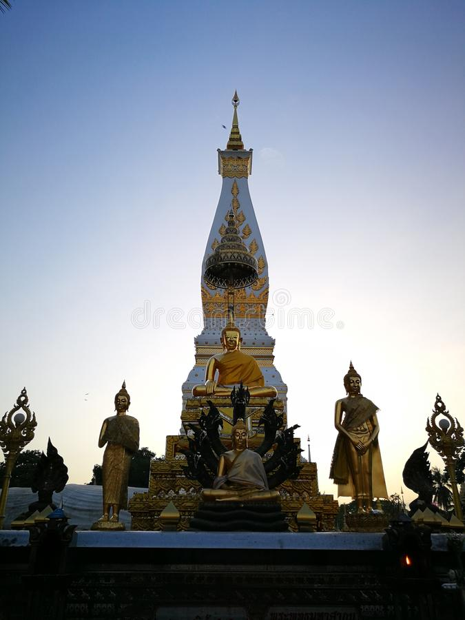 Phra ce temple de Phanom photo stock
