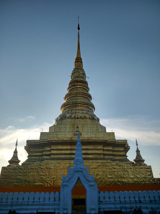 Phra that chae haeng at Nan ,Thailand stock photo