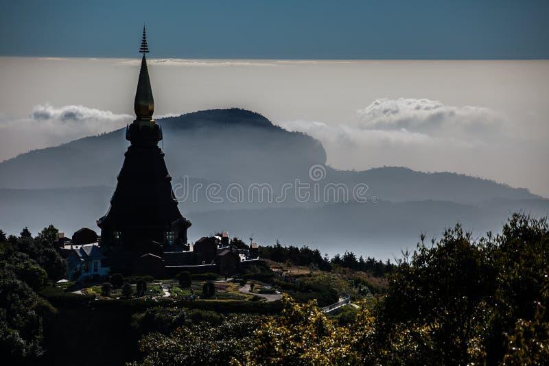 Phra che Doi Inthanon fotografia stock libera da diritti