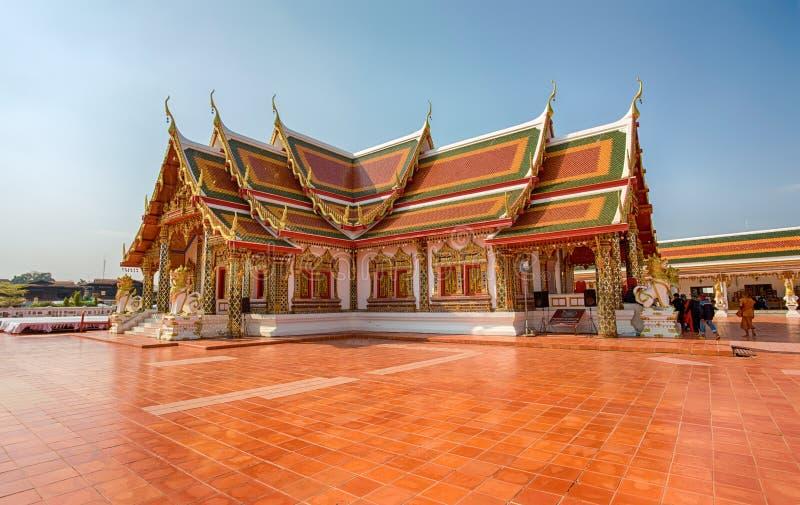 Phra That Choeng Chum Temple Sakon Nakhon, Thailand. Asia royalty free stock photography