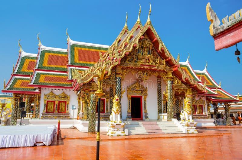 Phra That Choeng Chum Temple Sakon Nakhon, Thailand. Asia stock photos