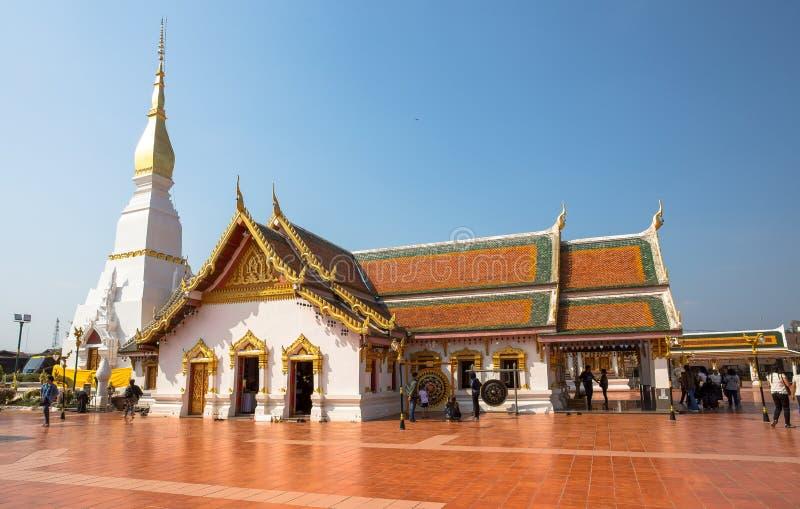 Phra That Choeng Chum Temple Sakon Nakhon, Thailand. Asia stock photo