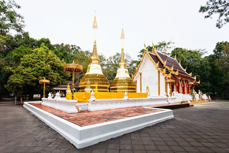 Phra den Doi tung arkivfoton