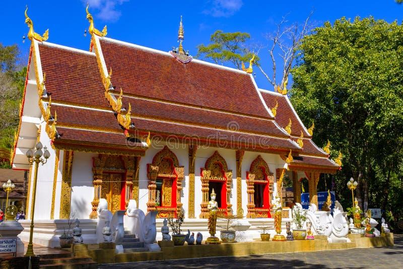 Phra det Doi Tung tempel fotografering för bildbyråer