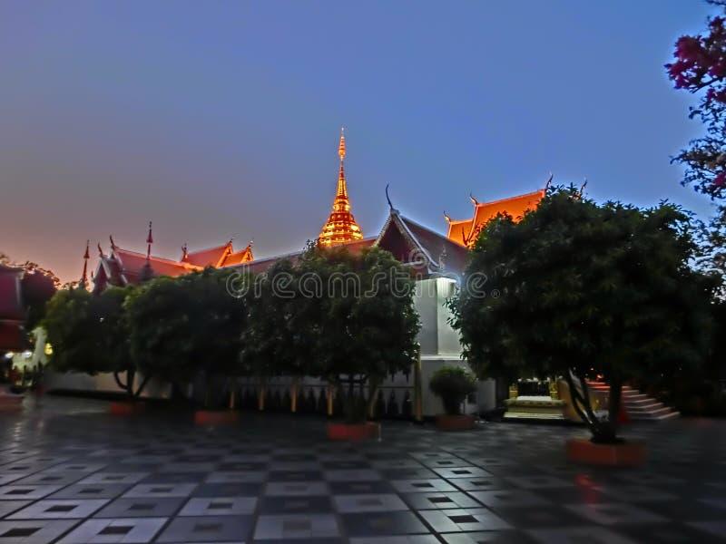 Phra that doi suthep stock photo