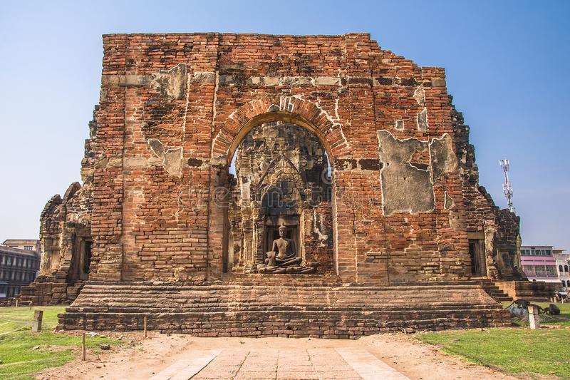 Phra esquintent Sam Yod, Lopburi, Tha?lande photos libres de droits
